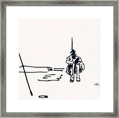 Golf II Framed Print
