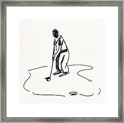 Golf Iv Framed Print
