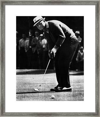 Golf Pro Jack Nicklaus, C. 1970s Framed Print