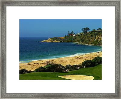 Golfers Heaven Framed Print by Kevin Moore