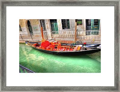 Gondola No Koibito Tachi  Framed Print by Barry R Jones Jr