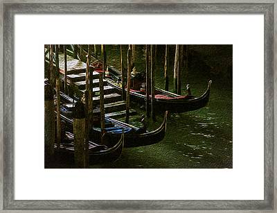 Gondole Framed Print by Celso Bressan