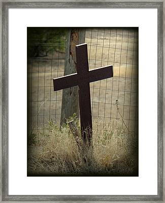 Gone But Not Forgotten Framed Print by Terry Eve Tanner