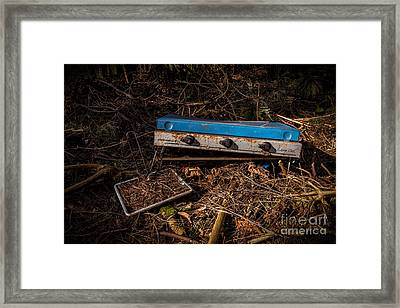 Gone Camping Framed Print