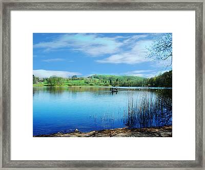 Gone Fishing 2 Framed Print by Peter Jenkins