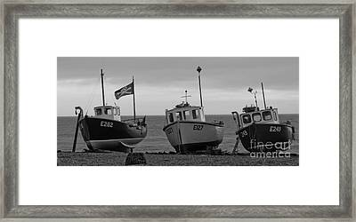 Gone Fishing Framed Print by Jo