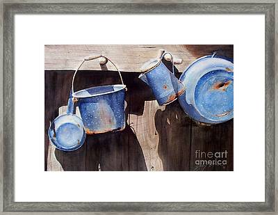 Gone To Pot...sold  Framed Print