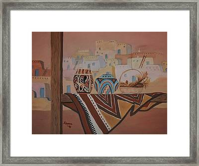 Gone To Work Framed Print by Alanna Hug-McAnnally