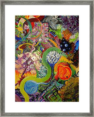 Gone Wild Framed Print by Sabrina  Logan