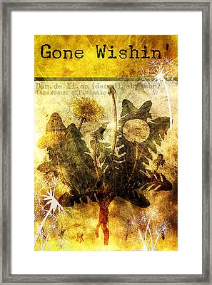 Gone Wishin' Framed Print by Bonnie Bruno