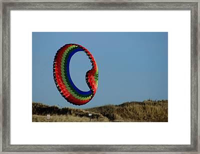 Good Day For A Kite Framed Print