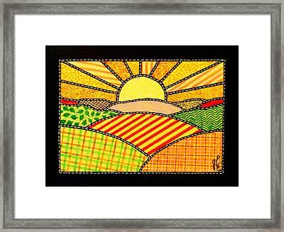Good Day Sunshine Framed Print by Jim Harris