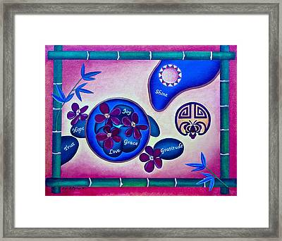 Good Feng Shui Cure Framed Print