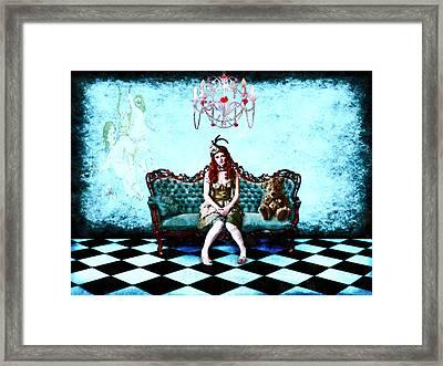 Framed Print featuring the digital art Good Friends by Mary Morawska