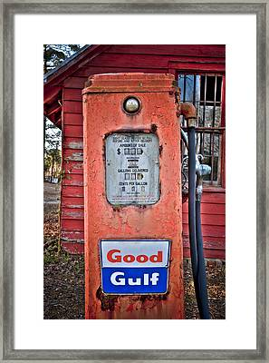 Good Gulf Framed Print