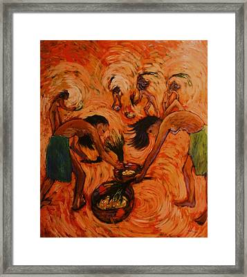 Good Harvest Framed Print