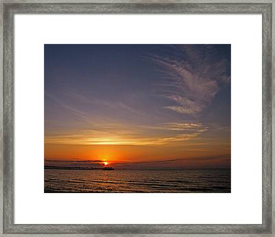 Framed Print featuring the photograph Good Morning by Brian Wright