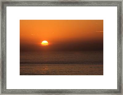 Good Morning California Framed Print