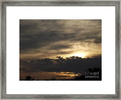 Good Morning Framed Print by Chad Thompson