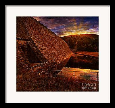 Edges Framed Prints