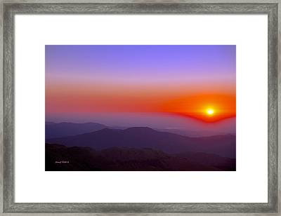 Good Morning Everyone Framed Print by Stephen  Johnson