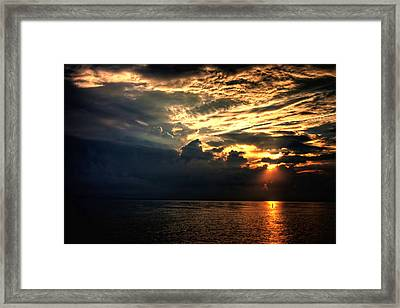 Framed Print featuring the photograph Good Morning by Joetta West