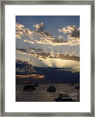 Good Morning Framed Print by Kelly Jones