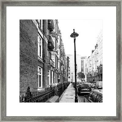 Good Morning #london Framed Print by Abdelrahman Alawwad