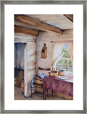 Good Morning Mr. Lincoln Framed Print