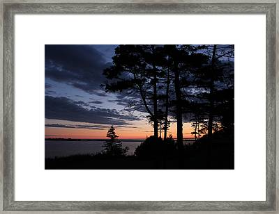 Good Morning North Rustico Framed Print by Sandi Blood