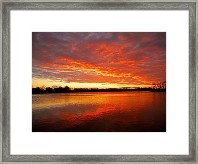 Good Morning ... Framed Print by Juergen Weiss