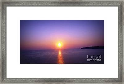 Framed Print featuring the photograph Good Morning Starshine by Nancy Dole McGuigan