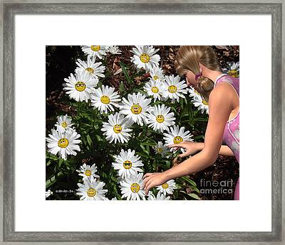 Good Morning Sunshine Framed Print by Methune Hively