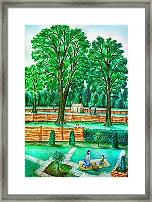 Good Neighbours Framed Print by Ronald Haber