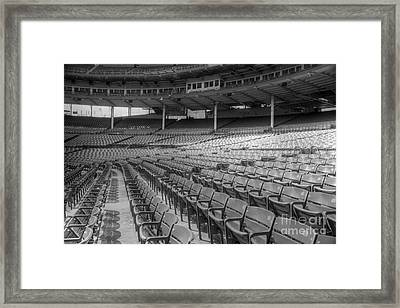 Good Seats At Wrigley Framed Print by David Bearden