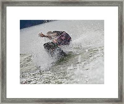 Good Try Framed Print by Susan Leggett