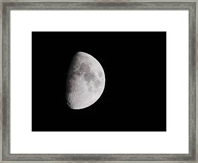 Goodbye Neil Armstrong Framed Print by Clarice  Lakota