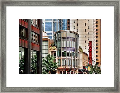 Goodman Theatre Chicago Illinois Framed Print by Christine Till