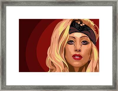 Googoo For Gaga Framed Print