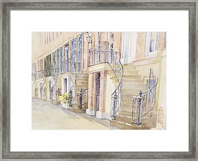 Gordon Row Framed Print