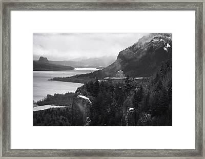 Gorge Winter Framed Print