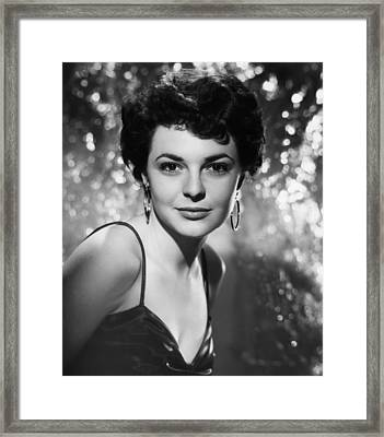 Gorilla At Large, Anne Bancroft, 1954 Framed Print