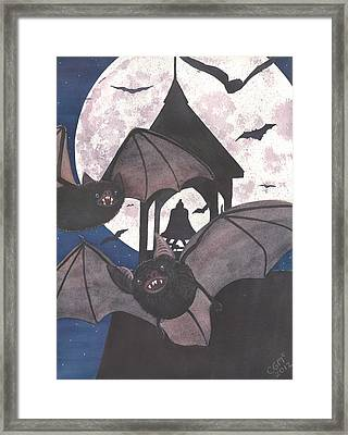 Got Bats Framed Print by Catherine G McElroy