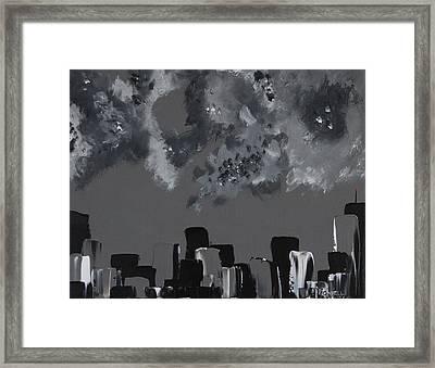 Gotham I Framed Print