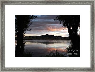 Gothic Mountain Framed Print by Juan Romagosa