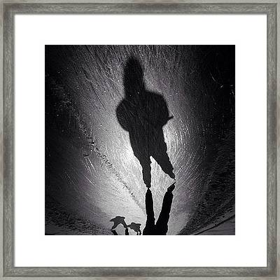 Gotta Love This Dutch Winter... #shadow Framed Print