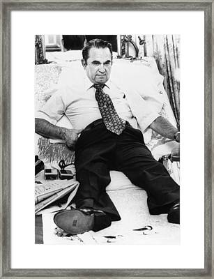 Gov. George Wallace In 1974. The Framed Print