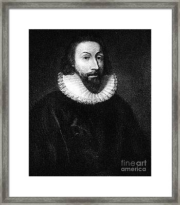 Governer John Winthrop Framed Print by Extrospection Art