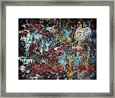 Government Bureaucracy Is Making Me Crazy Framed Print