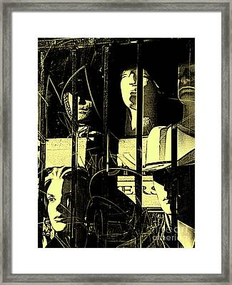 Government Reeducation Facility Framed Print by Joe Jake Pratt